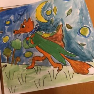 Mr Fox. Art club