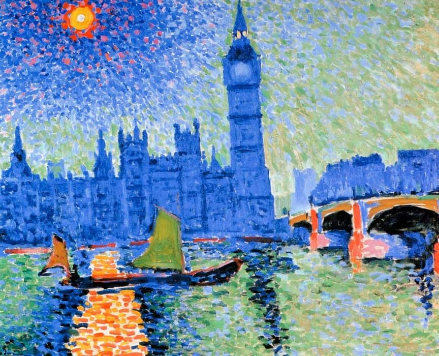 Pointillism Artwork