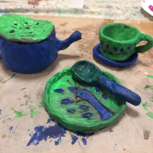 Art club- clay